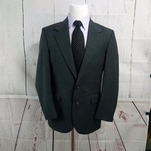 Pierre Balmain 41R 2 Button Gray Suit Blazer Sport